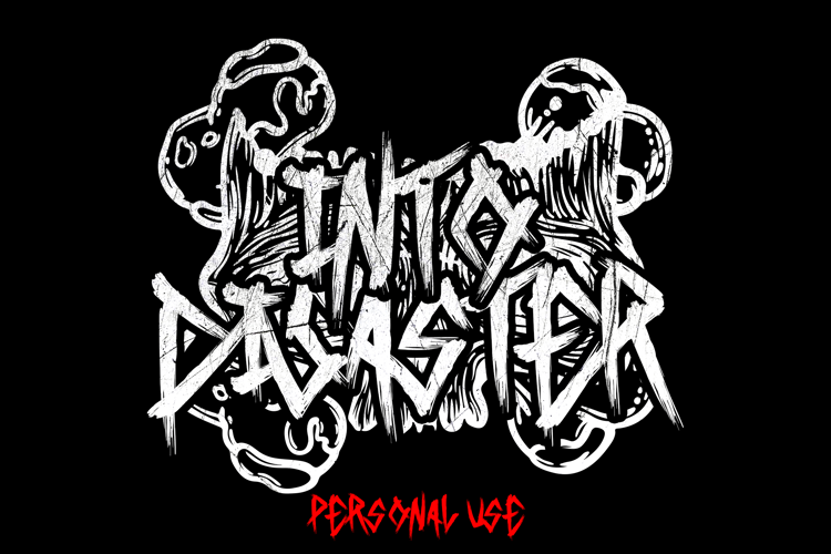 Into Disaster Font