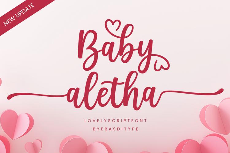 Baby Aletha Font