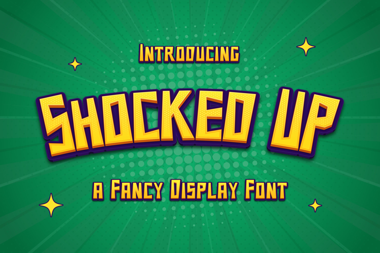 Shocked Up Font