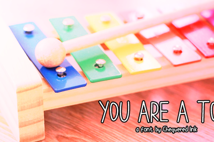 You are a TOY Font