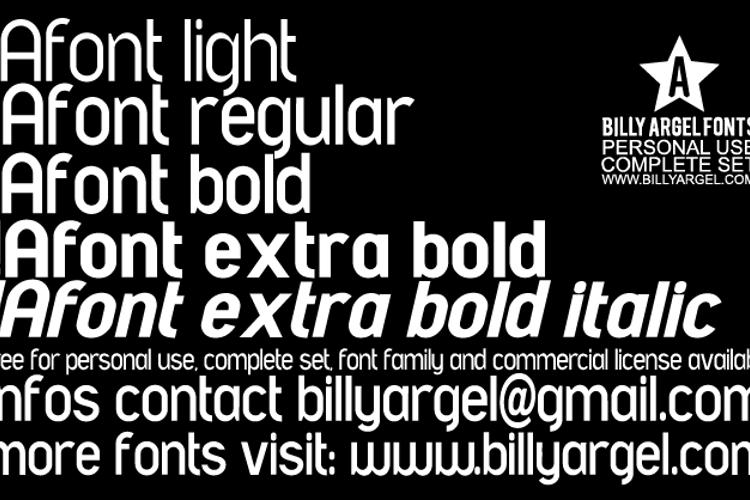 A font LIGHT