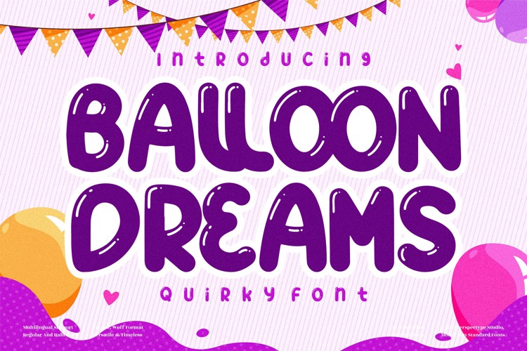 BALLOON DREAMS Font