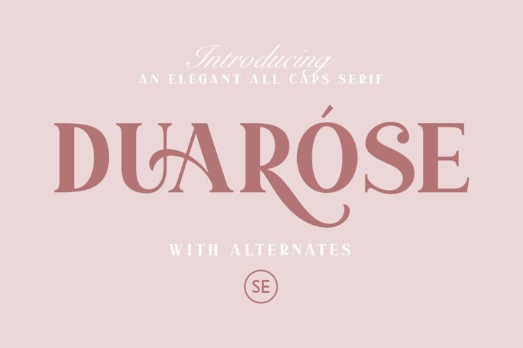 Duarose Serif Font