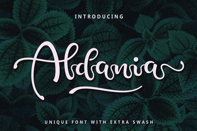 Aldania Font