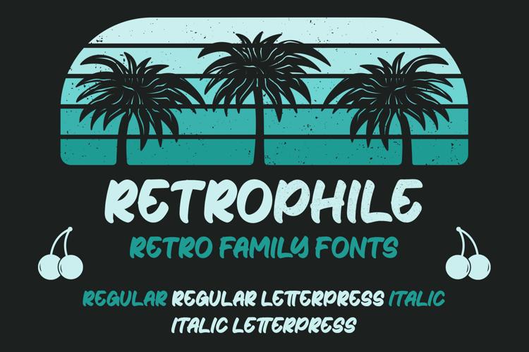 Retrophile Font