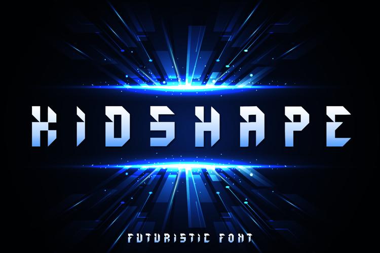 Kids Shape Font