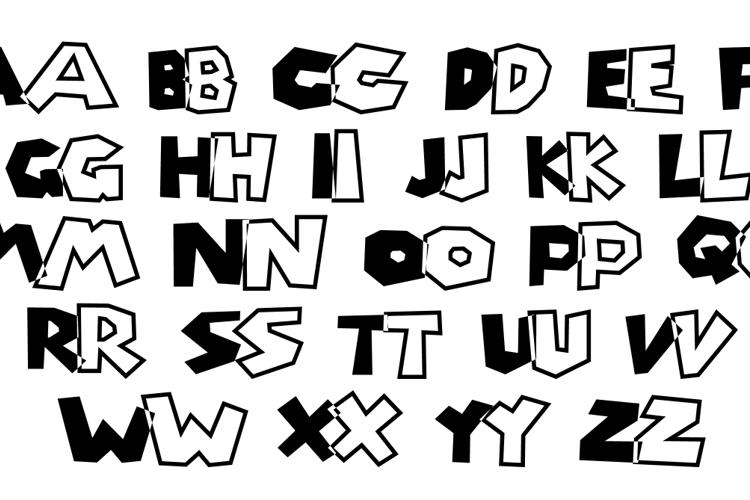 Super Mario Brothers Font