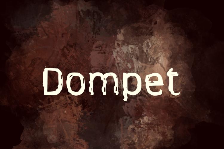 d Dompet Font