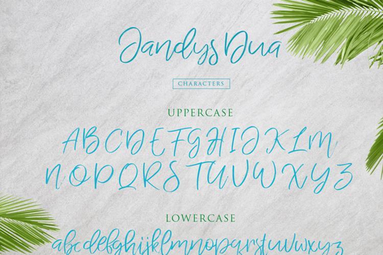 Jandys dua Font