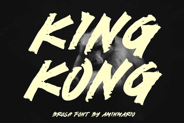 KING KONG Font