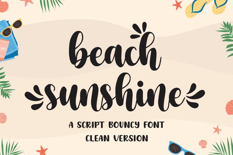 beachsunshine Font