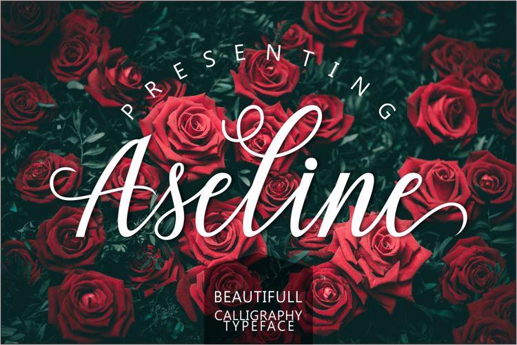 Aseline Script Font
