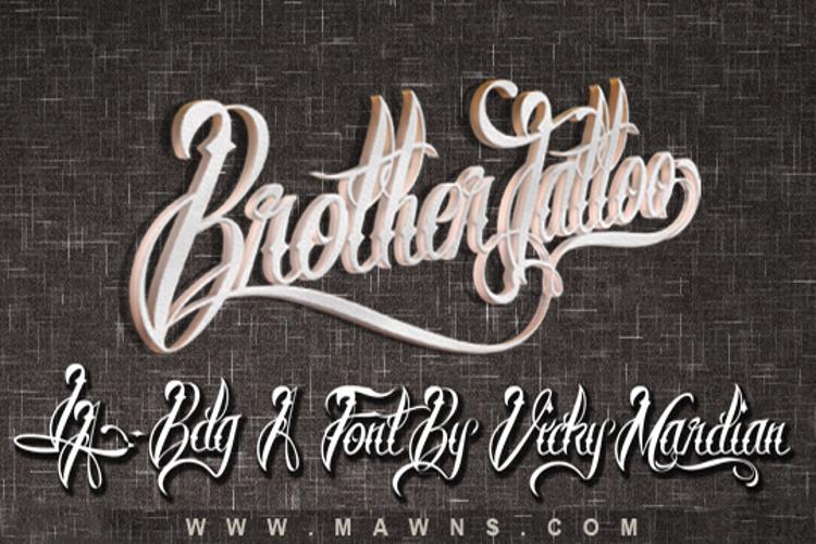 Brother Tattoo Font
