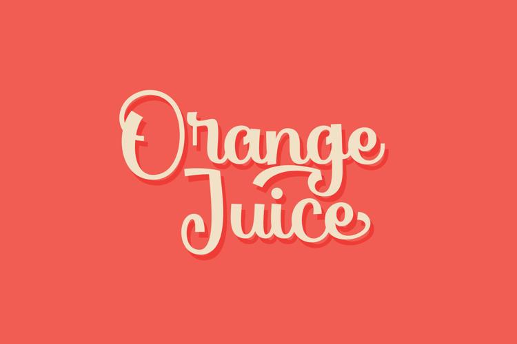 Orange Juice Font