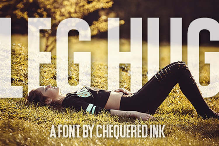Leg Hug Font