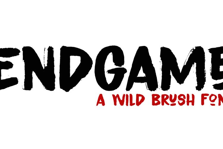 Endgame DEMO Font