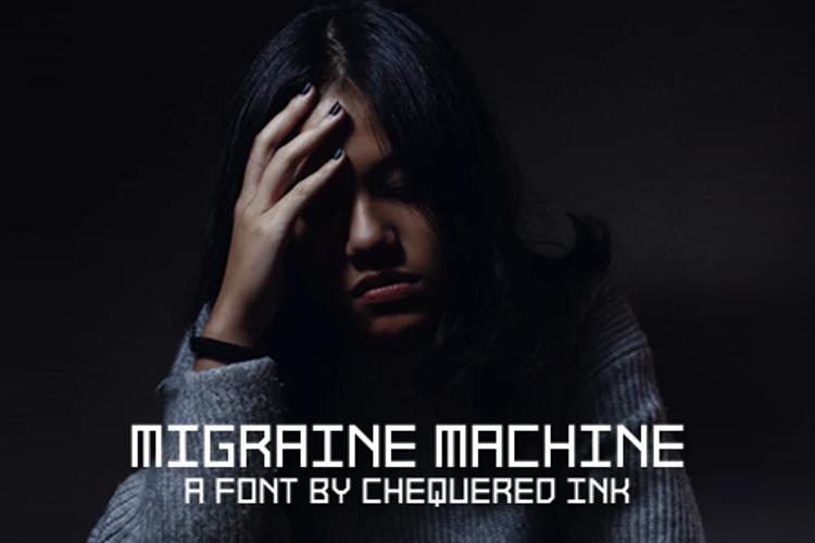 Migraine Machine Font