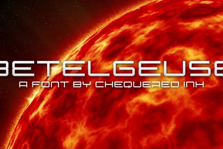 Betelgeuse Font