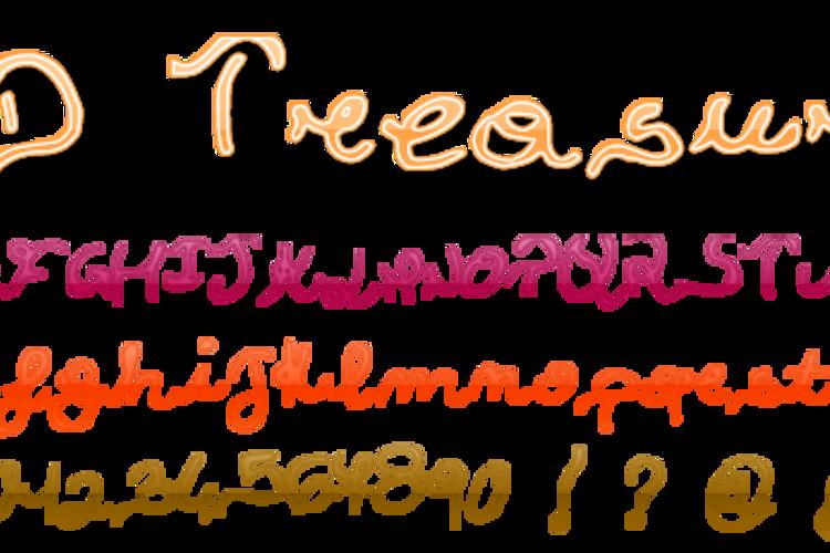 JDTreasure Font