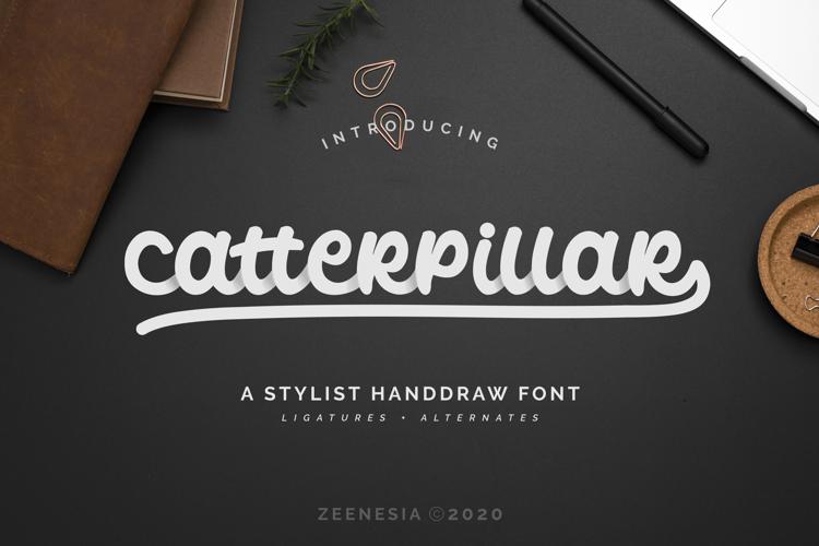 Catterpillar Regular Font