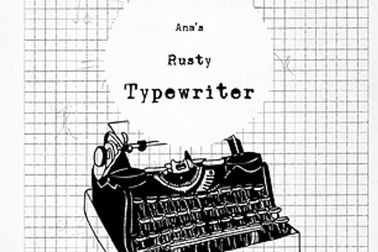 Ana's Rusty Typewriter Font