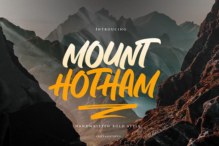 Hotham Font