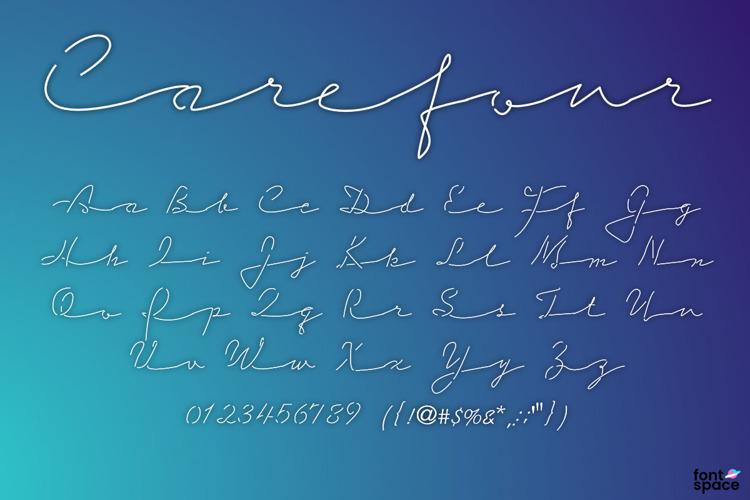 Carefour Font