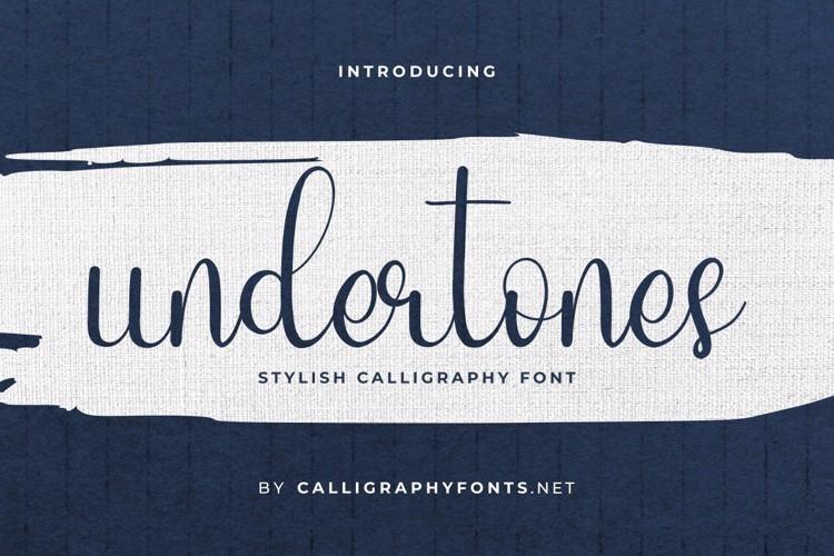 Undertones Font