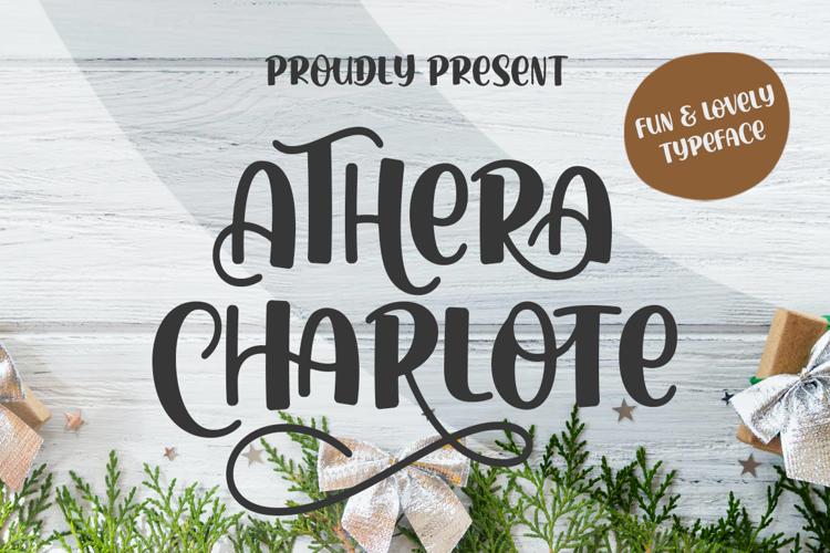 Athera Charlote Font