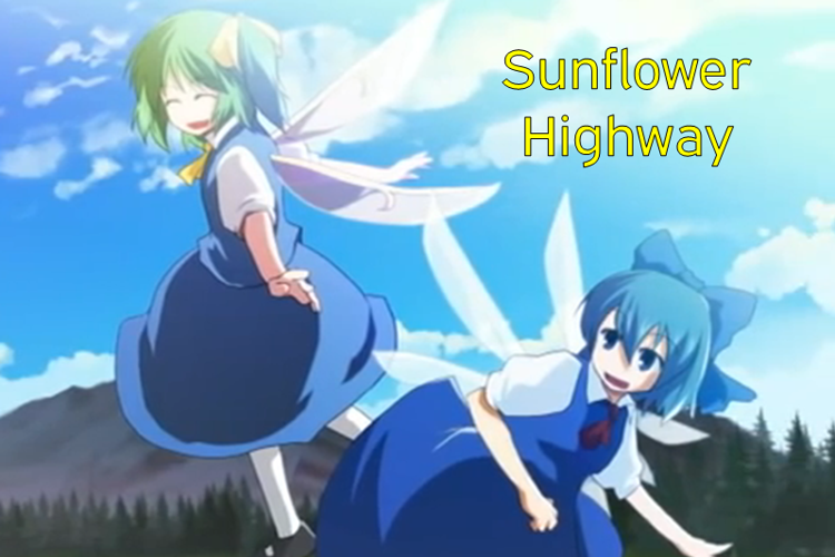 Sunflower Highway Font