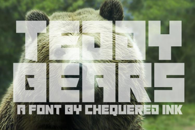 Teddy Bears Font