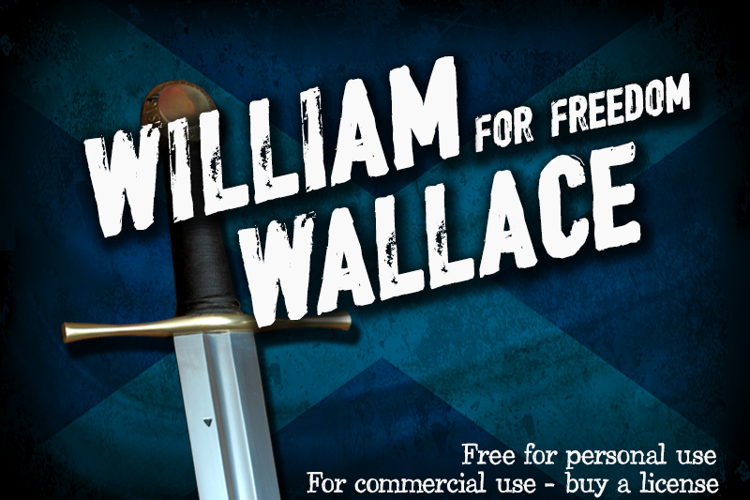 CF William Wallace Font