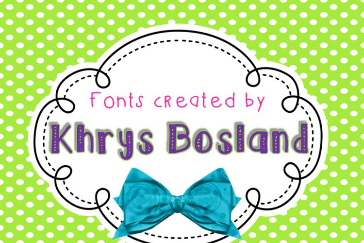 KBPopTheBubbly Font