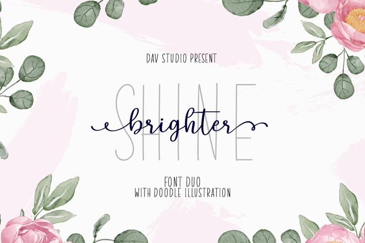 Shine Brighter Font