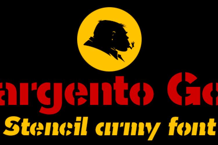Sargento Gorila Font