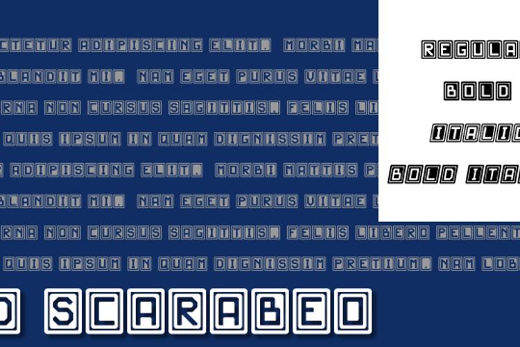 JD Scarabeo Font