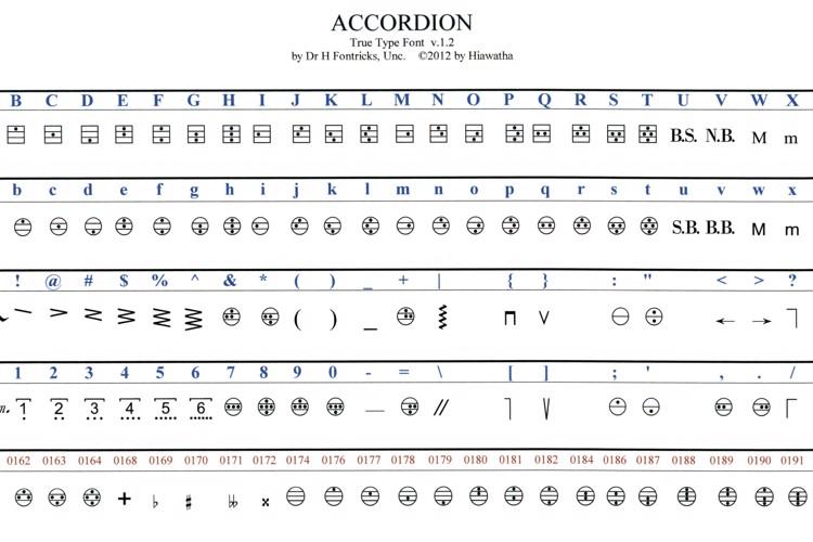 Accordion Font