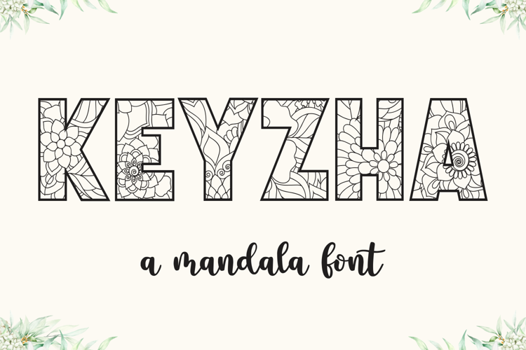 KEYZHA Font