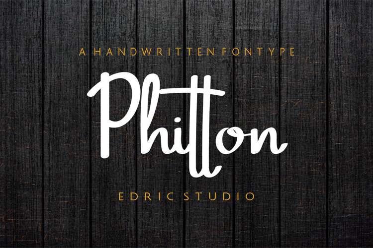 Phitton Font