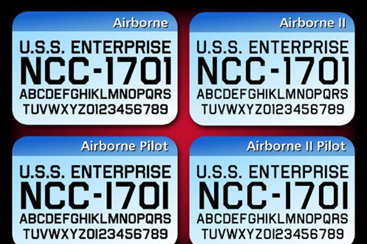 Airborne Font