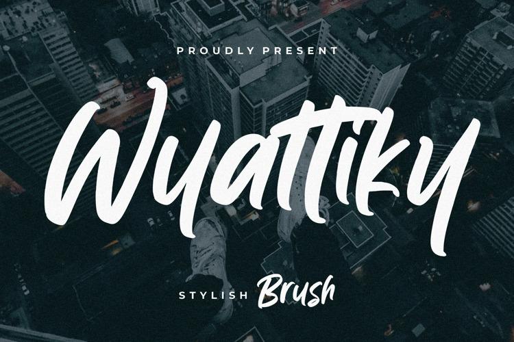 Wyattiky Font