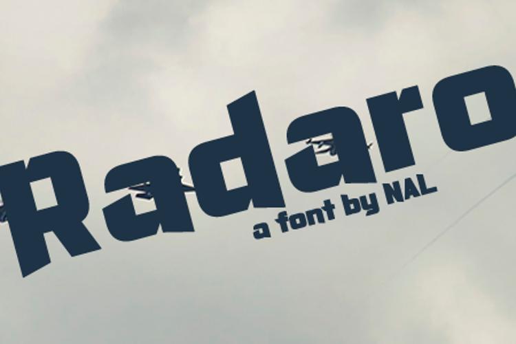 Radaro Font