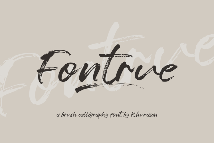 Fontrue Font