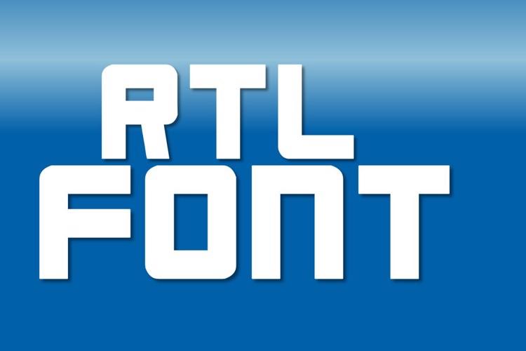 RTL Font