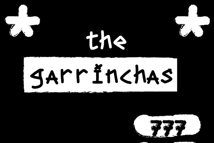 the garrinchas Font