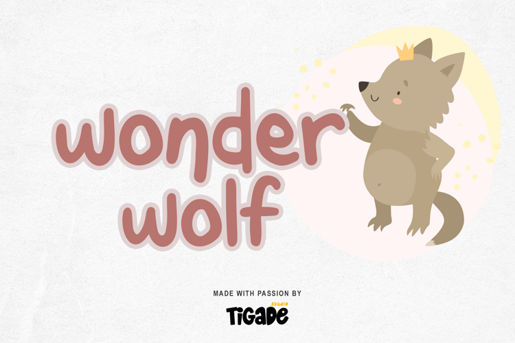 Wonderwolf Font