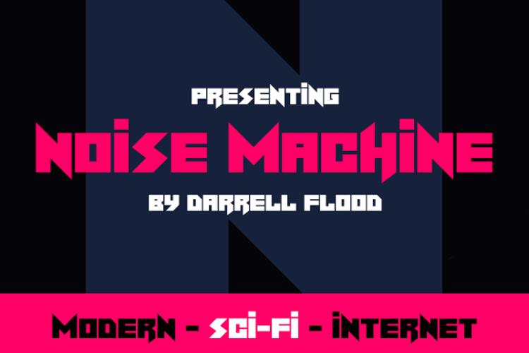Noise Machine Font