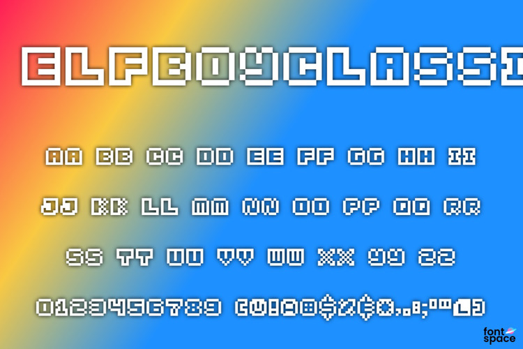 Elf Boy Classic Font