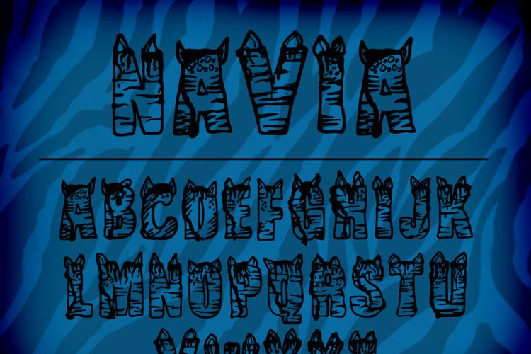 CF NaVia Font