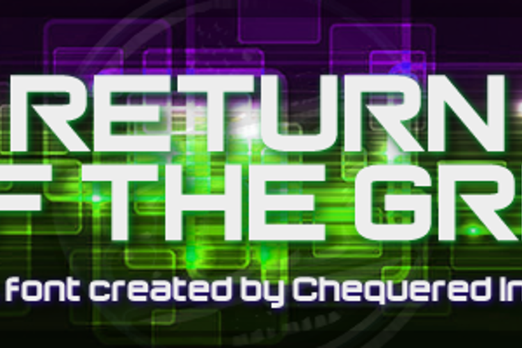 Return of the Grid Font